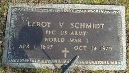 SCHMIDT, LEROY V - Franklin County, Ohio | LEROY V SCHMIDT - Ohio Gravestone Photos