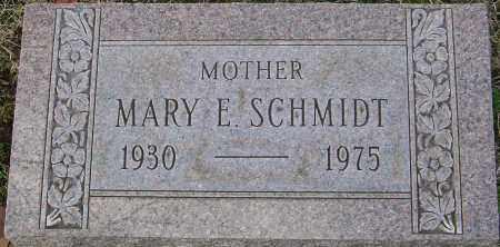 SCHMIDT, MARY E - Franklin County, Ohio | MARY E SCHMIDT - Ohio Gravestone Photos