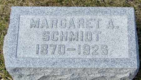 NIEHAUS SCHMIDT, MARGARET A - Franklin County, Ohio | MARGARET A NIEHAUS SCHMIDT - Ohio Gravestone Photos