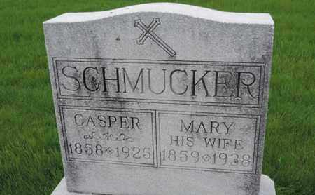 SCHMUCKER, CASPER - Franklin County, Ohio | CASPER SCHMUCKER - Ohio Gravestone Photos