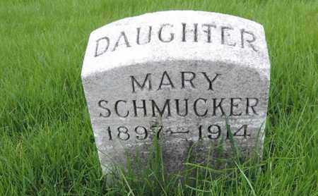 SCHMUCKER, MARY - Franklin County, Ohio | MARY SCHMUCKER - Ohio Gravestone Photos