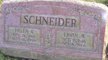 SCHNEIDER, ERVIN - Franklin County, Ohio | ERVIN SCHNEIDER - Ohio Gravestone Photos