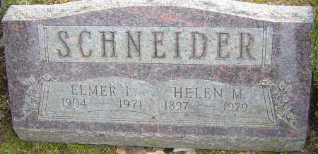 SCHNEIDER, HELEN M - Franklin County, Ohio | HELEN M SCHNEIDER - Ohio Gravestone Photos
