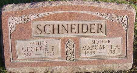 EBRIGHT SCHNEIDER, MARGARET A - Franklin County, Ohio | MARGARET A EBRIGHT SCHNEIDER - Ohio Gravestone Photos