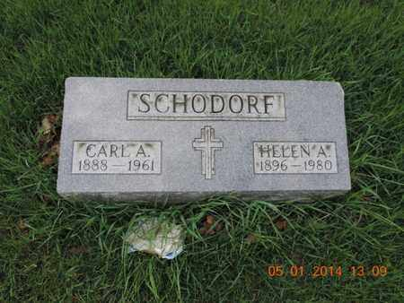 SCHODORF, CARL A - Franklin County, Ohio | CARL A SCHODORF - Ohio Gravestone Photos