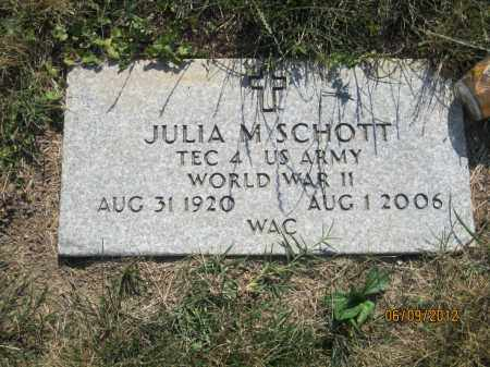 "SCHOTT, JULIA M ""JUDY"" - Franklin County, Ohio 