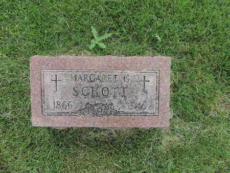 SCHOTT, MARGARET G. - Franklin County, Ohio | MARGARET G. SCHOTT - Ohio Gravestone Photos