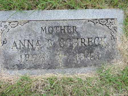 SCHRECK, ANNA B. - Franklin County, Ohio | ANNA B. SCHRECK - Ohio Gravestone Photos