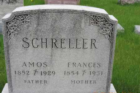 SCHRELLER, FRANCES - Franklin County, Ohio | FRANCES SCHRELLER - Ohio Gravestone Photos