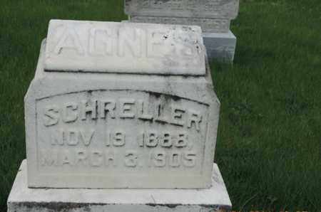 SCHRELLER, AGNES - Franklin County, Ohio | AGNES SCHRELLER - Ohio Gravestone Photos