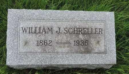 SCHRELLER, WILLIAM J. - Franklin County, Ohio | WILLIAM J. SCHRELLER - Ohio Gravestone Photos