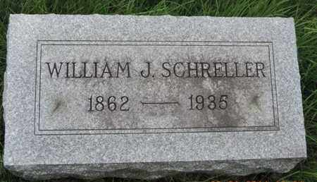 SCHRELLER, WILLIAM J - Franklin County, Ohio | WILLIAM J SCHRELLER - Ohio Gravestone Photos