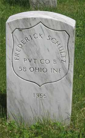 SCHULTZ, FREDERICK - Franklin County, Ohio | FREDERICK SCHULTZ - Ohio Gravestone Photos
