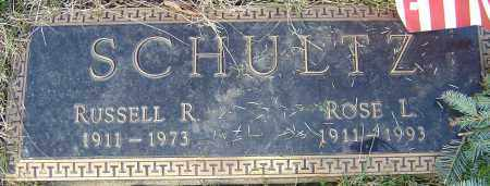 SCHULTZ, RUSSELL R - Franklin County, Ohio | RUSSELL R SCHULTZ - Ohio Gravestone Photos