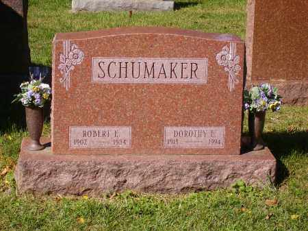 SCHUMAKER, ROBERT E. - Franklin County, Ohio | ROBERT E. SCHUMAKER - Ohio Gravestone Photos