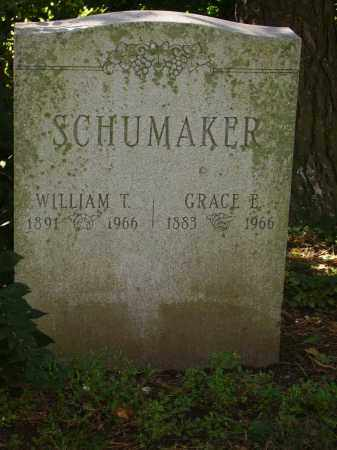 SCHUMAKER, GRACE E. - Franklin County, Ohio | GRACE E. SCHUMAKER - Ohio Gravestone Photos