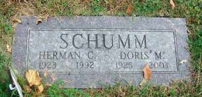 SCHUMM, HERMAN C. - Franklin County, Ohio | HERMAN C. SCHUMM - Ohio Gravestone Photos