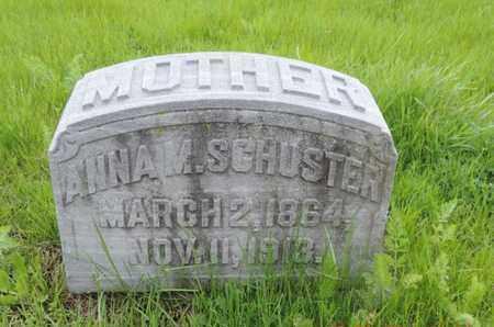 SCHUSTER, ANNA M. - Franklin County, Ohio   ANNA M. SCHUSTER - Ohio Gravestone Photos