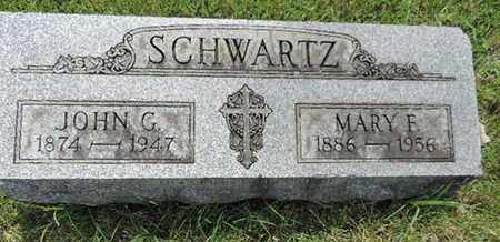 SCHWARTZ, JOHN G - Franklin County, Ohio | JOHN G SCHWARTZ - Ohio Gravestone Photos