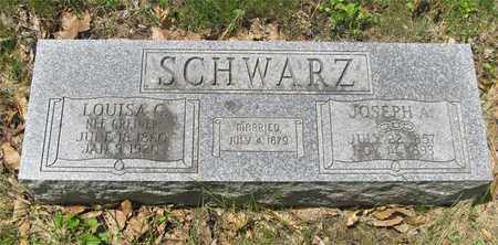 SCHWARZ, JOSEPH A. - Franklin County, Ohio | JOSEPH A. SCHWARZ - Ohio Gravestone Photos