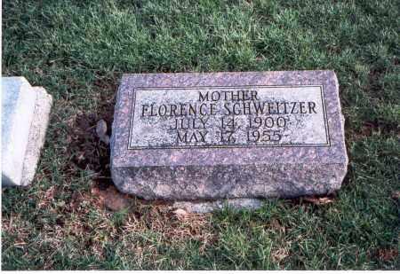 SCHWEITZER, FLORENCE - Franklin County, Ohio | FLORENCE SCHWEITZER - Ohio Gravestone Photos