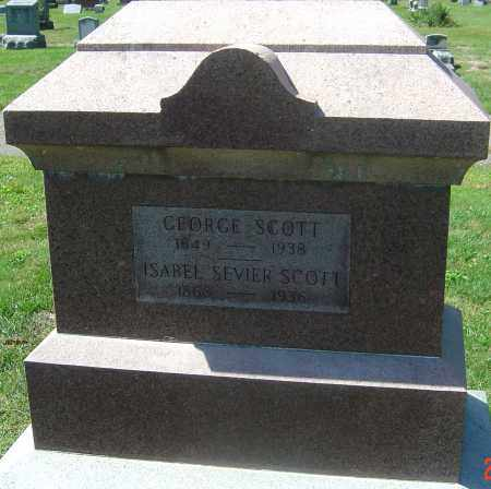 SCOTT, GEORGE - Franklin County, Ohio | GEORGE SCOTT - Ohio Gravestone Photos