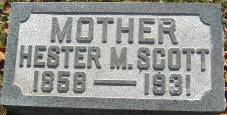 SCOTT, HESTER MINNIE - Franklin County, Ohio | HESTER MINNIE SCOTT - Ohio Gravestone Photos