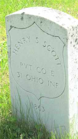 SCOTT, HENRY S. - Franklin County, Ohio | HENRY S. SCOTT - Ohio Gravestone Photos