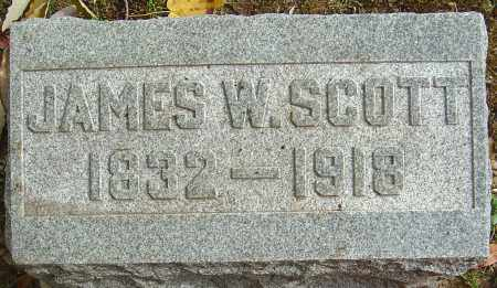 SCOTT, JAMES W - Franklin County, Ohio | JAMES W SCOTT - Ohio Gravestone Photos