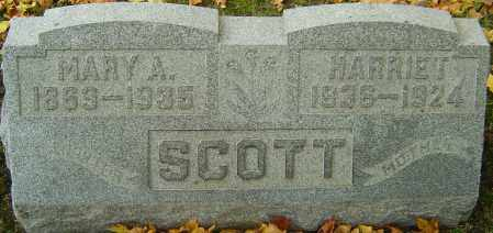 SCOTT, MARY A - Franklin County, Ohio | MARY A SCOTT - Ohio Gravestone Photos