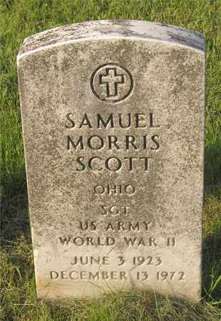 SCOTT, SAMUEL MORRIS - Franklin County, Ohio | SAMUEL MORRIS SCOTT - Ohio Gravestone Photos