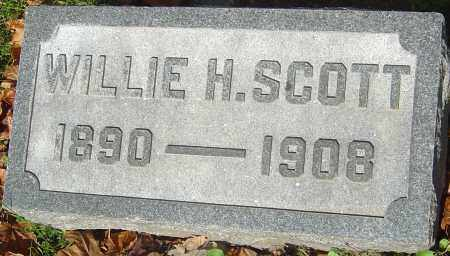 SCOTT, WILLIE H - Franklin County, Ohio | WILLIE H SCOTT - Ohio Gravestone Photos