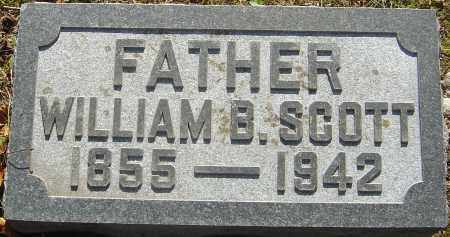 SCOTT, WILLIAM BEVERLY - Franklin County, Ohio | WILLIAM BEVERLY SCOTT - Ohio Gravestone Photos