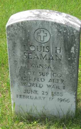 SEAMAN, LOUIS H. - Franklin County, Ohio | LOUIS H. SEAMAN - Ohio Gravestone Photos
