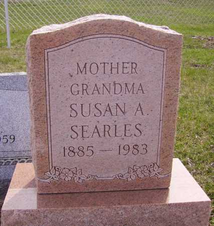 SEARLES, SUSAN A. - Franklin County, Ohio | SUSAN A. SEARLES - Ohio Gravestone Photos