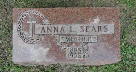 SEARS, ANNA L. - Franklin County, Ohio | ANNA L. SEARS - Ohio Gravestone Photos