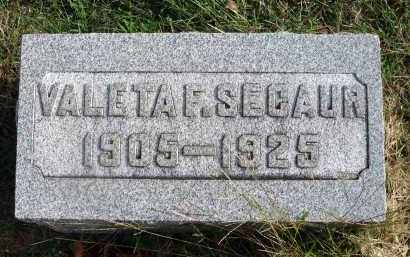 SECAUR, VALETA F. - Franklin County, Ohio | VALETA F. SECAUR - Ohio Gravestone Photos