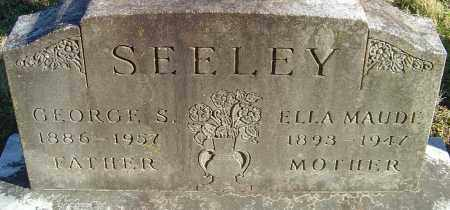 SEELEY, GEORGE SMITH - Franklin County, Ohio | GEORGE SMITH SEELEY - Ohio Gravestone Photos