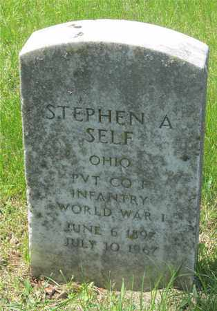 SELF, STEPHEN A. - Franklin County, Ohio | STEPHEN A. SELF - Ohio Gravestone Photos