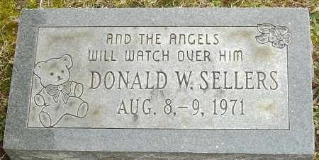 SELLERS, DONALD W - Franklin County, Ohio | DONALD W SELLERS - Ohio Gravestone Photos