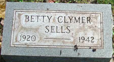 CLYMER SELLS, BETTY - Franklin County, Ohio | BETTY CLYMER SELLS - Ohio Gravestone Photos