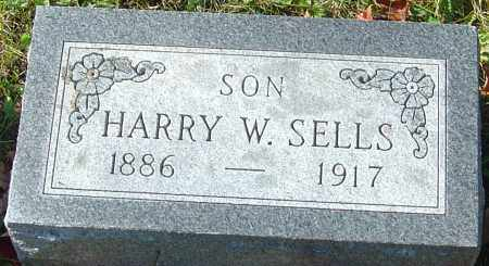 SELLS, HARRY W - Franklin County, Ohio | HARRY W SELLS - Ohio Gravestone Photos