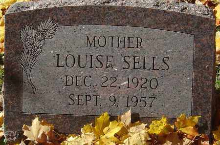 SELLS, LOUISE - Franklin County, Ohio | LOUISE SELLS - Ohio Gravestone Photos