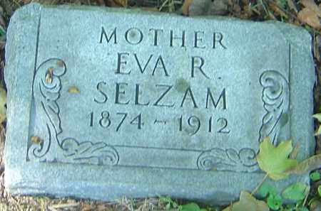 SELZAM, EVA R - Franklin County, Ohio | EVA R SELZAM - Ohio Gravestone Photos