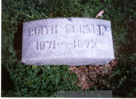 SENTER, EDITH E. - Franklin County, Ohio | EDITH E. SENTER - Ohio Gravestone Photos
