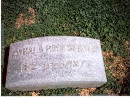 PIKE SENTER, MAHALA - Franklin County, Ohio | MAHALA PIKE SENTER - Ohio Gravestone Photos
