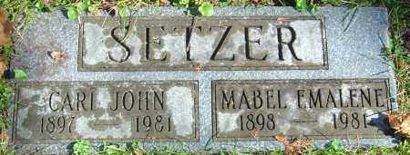 SETZER, MABEL EMALENE - Franklin County, Ohio | MABEL EMALENE SETZER - Ohio Gravestone Photos