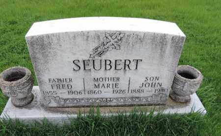 SEUBERT, JOHN - Franklin County, Ohio | JOHN SEUBERT - Ohio Gravestone Photos