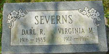 SEVERNS, DARL R - Franklin County, Ohio | DARL R SEVERNS - Ohio Gravestone Photos