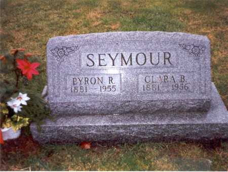 SEYMOUR, CLARA B. - Franklin County, Ohio | CLARA B. SEYMOUR - Ohio Gravestone Photos